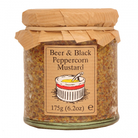 Beer & Black Peppercorn Mustard