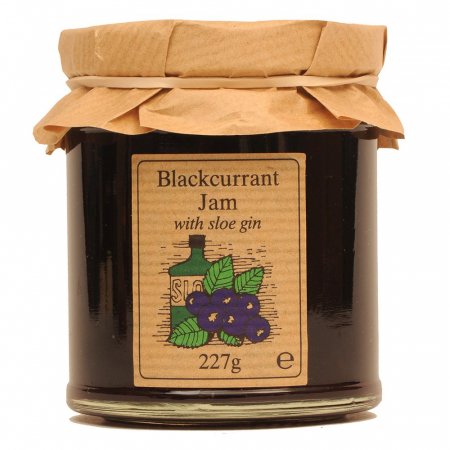 Blackcurrant Jam with Sloe Gin