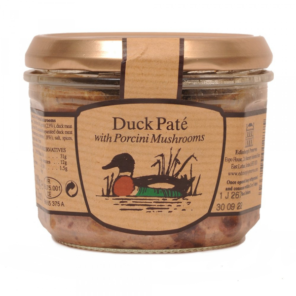 Duck Pate with Porcini Mushrooms