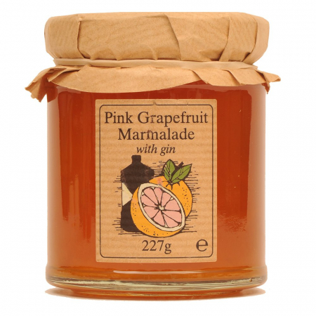 Pink Grapefruit Marmalade with Gin